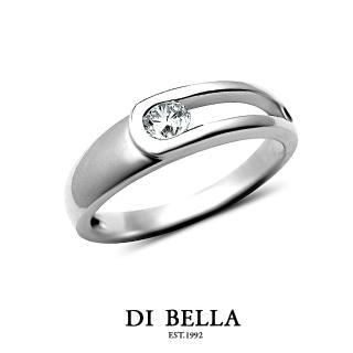 【DI BELLA】Perfect Love 真鑽情人戒指(女款)