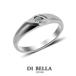 【DI BELLA】FUTURE真鑽情人戒指(女款)