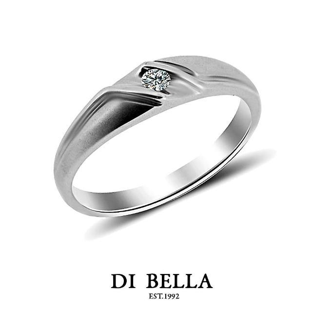 【DI BELLA】FUTURE 真鑽情人戒指(女款)