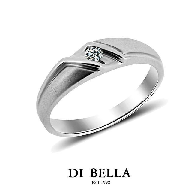 【DI BELLA】FUTURE 真鑽情人戒指(男款)