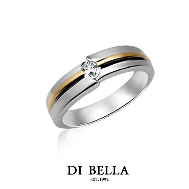 【DI BELLA】DREAM LOVE 真鑽情人戒指(女款)
