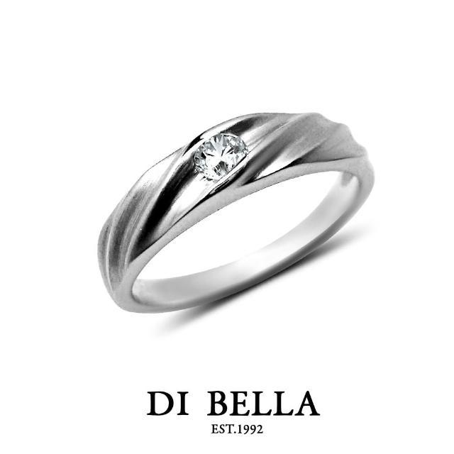 【DI BELLA】FEARLESS 真鑽情人戒指(男款)