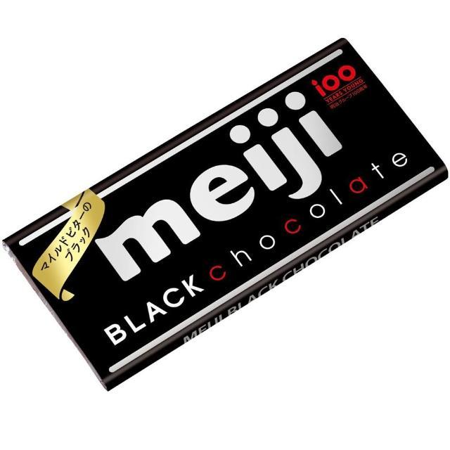 【明治】代可可脂黑巧克力-片裝 50g(黑巧克力)