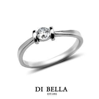 【DI BELLA】璀璨星空真鑽情人戒指(女款)