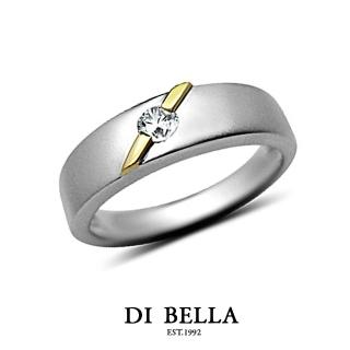 【DI BELLA】HONEY DIAMOND 真鑽情人戒指(女款)