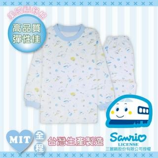 【新幹線】嬰幼兒長袖居家套裝(太空印花-100-120cm)