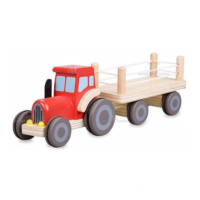 【classic world 德國經典木玩 客來喜】農場卡車