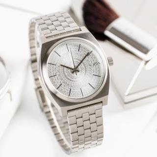 【NIXON】TIME TELLER 時尚百變個性腕錶-銀(A045-2129)