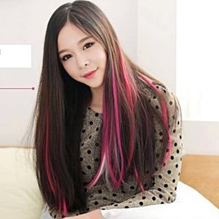 【梨花HaNA】派對彩色糖果女孩變髮假髮髮束