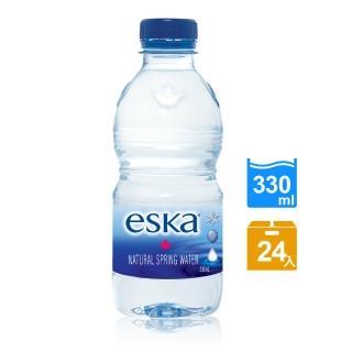 【eska愛斯卡】加拿大天然冰川水 330ML(24入/箱)