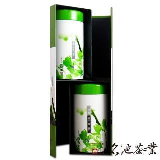 【名池茶業】梨山高山茶手採茶葉禮盒150公克x2(茶美學款)