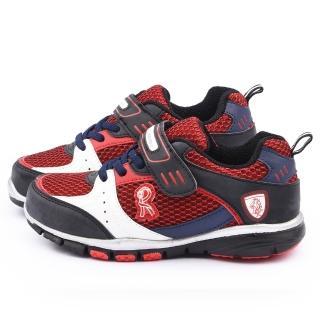 【童鞋城堡】Roberta 中大童 輕量運動鞋(614925-紅)
