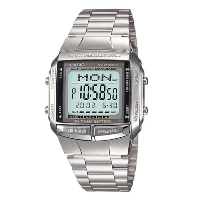 【CASIO】簡約酒桶數位錶(DB-360-1)