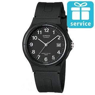 【CASIO】超薄經典指針錶(MW-59-1B)