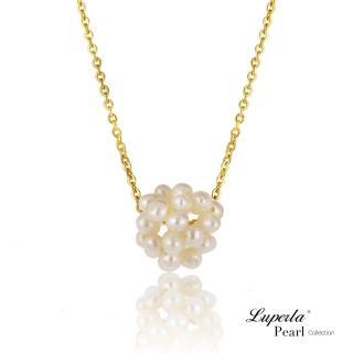 【大東山珠寶】輕舞細韻 天然珍珠項鍊(時尚珍珠白)