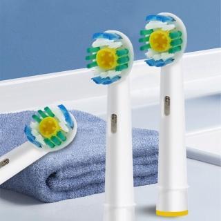 副廠-美白電動牙刷刷頭1卡4入EB18/相容歐樂B 電動牙刷