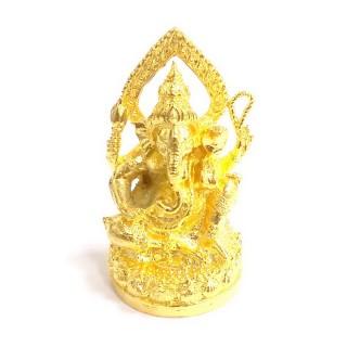 【十相自在】5.6公分 小佛像/法像-金黃色(象鼻神)