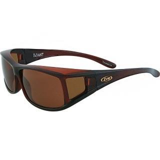 【ZIV 運動太陽眼鏡】ELEGANT外掛眼鏡(褐#24-S100013)