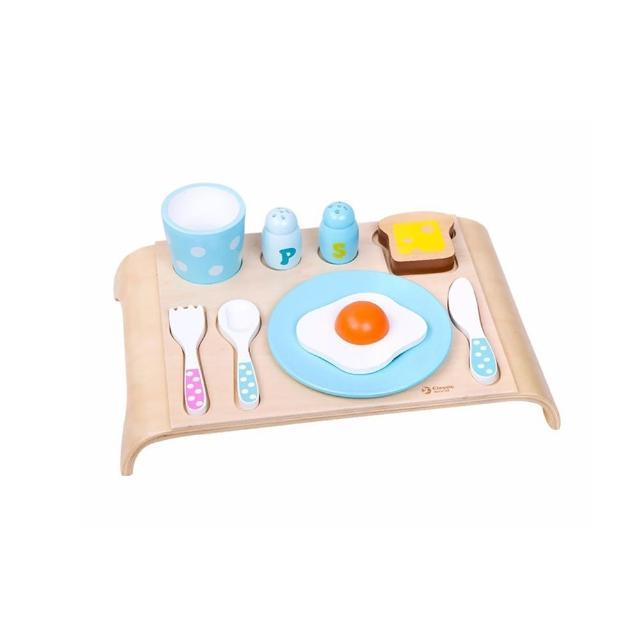 【Classic world 德國經典木玩】早餐套餐組