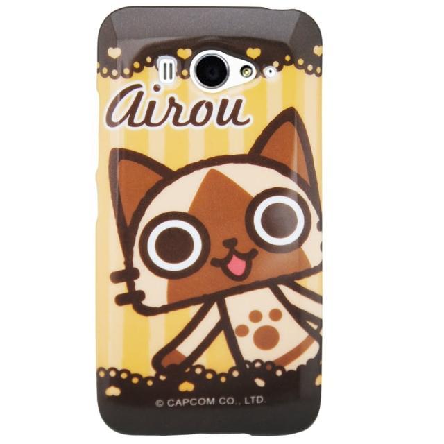 【Aztec】艾路貓 小米手機 2S 掀蓋式皮套 手機殼(咖啡蕾絲)