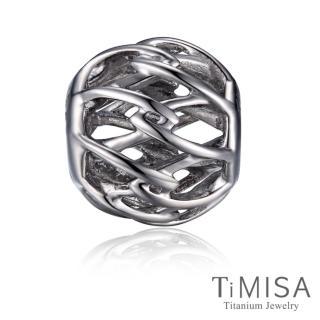 【TiMISA】交織 純鈦飾品 串珠