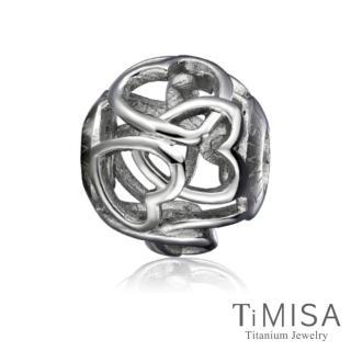 【TiMISA】心心相印 純鈦飾品 串珠