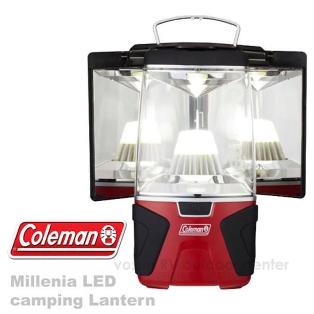 【美國 Coleman】經典限量 千禧年LED反射板露營燈_1000流明 可當主燈桌燈(CM-22276)排行推薦