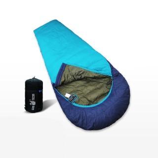 【遊遍天下】JIS90%羽絨台灣製禦寒保暖防風防潑水羽絨睡袋(D400_950G)