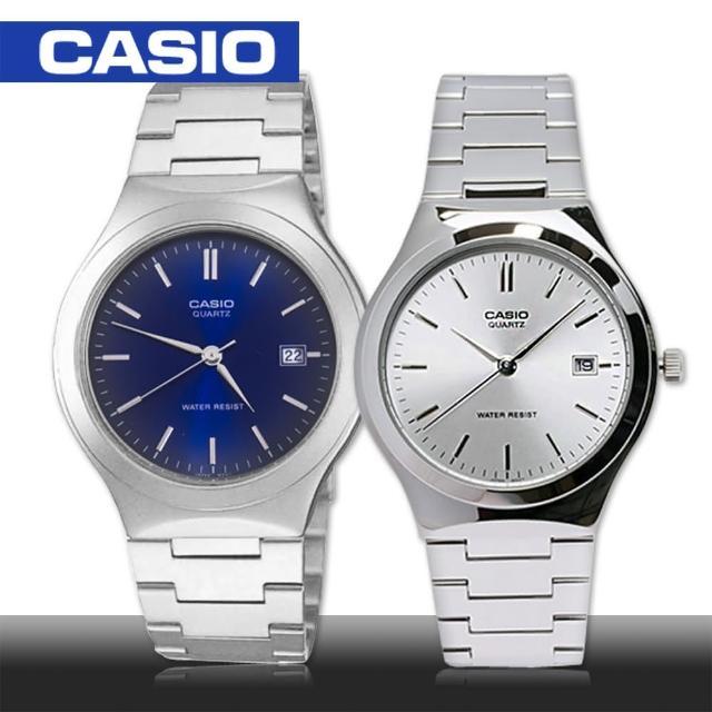【CASIO 卡西歐】送禮首選-不鏽鋼 礦物玻璃 防水 男錶 鏡面3.1cm(MTP-1170A)