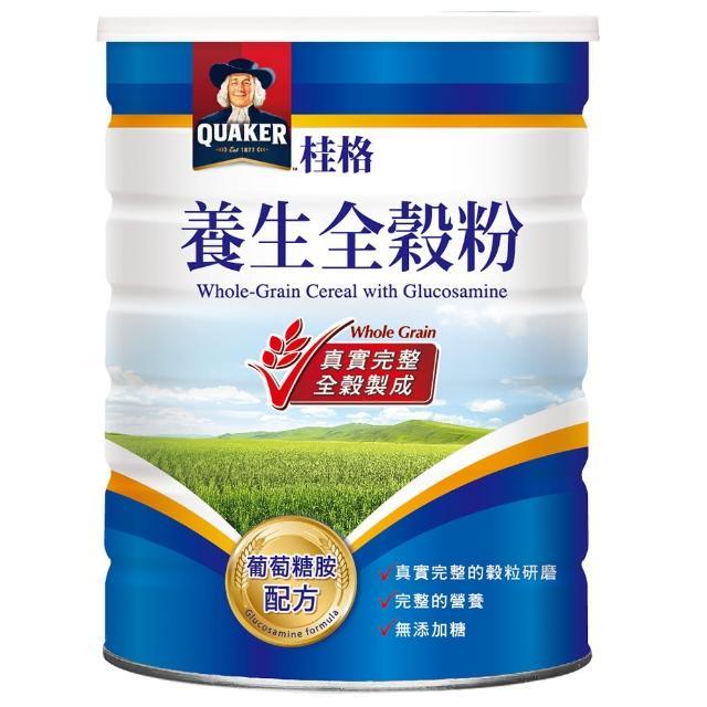 【桂格】葡萄糖胺配方養生全穀粉600g/罐