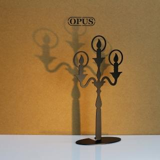 【OPUS東齊金工】歐式鐵藝飾品架/金屬首飾座/戒指項鍊架(PI-li06B 希望之光_經典黑)