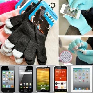 【i 美麗】黑色觸屏手套(買一雙送一雙)