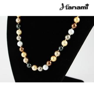 【Hanami】8mm極品典藏南洋貝寶珠項鍊