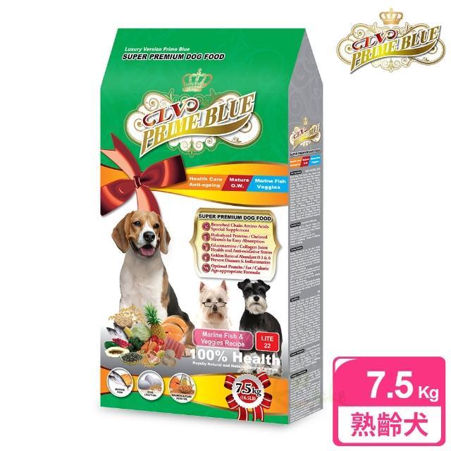 【LV藍帶精選】熟齡減重犬 7.5kg(海魚蔬果)