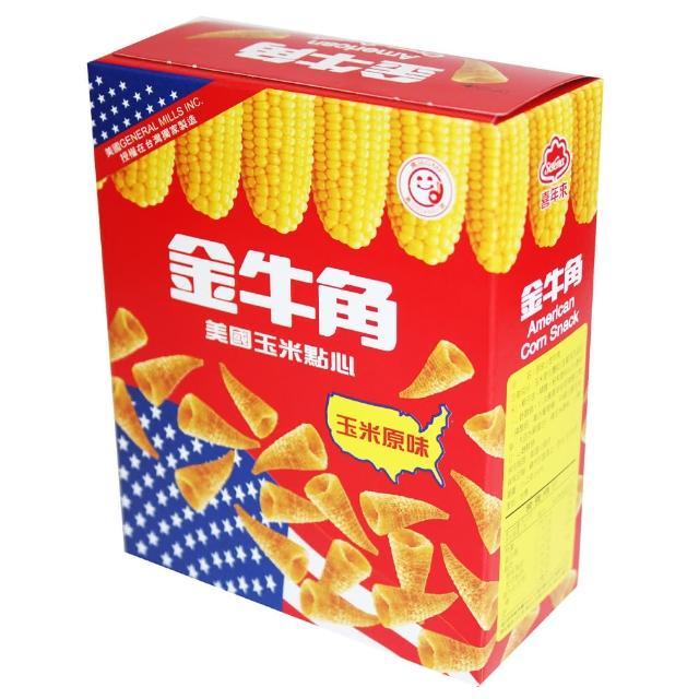 【喜年來】金牛角玉米原味(35g)