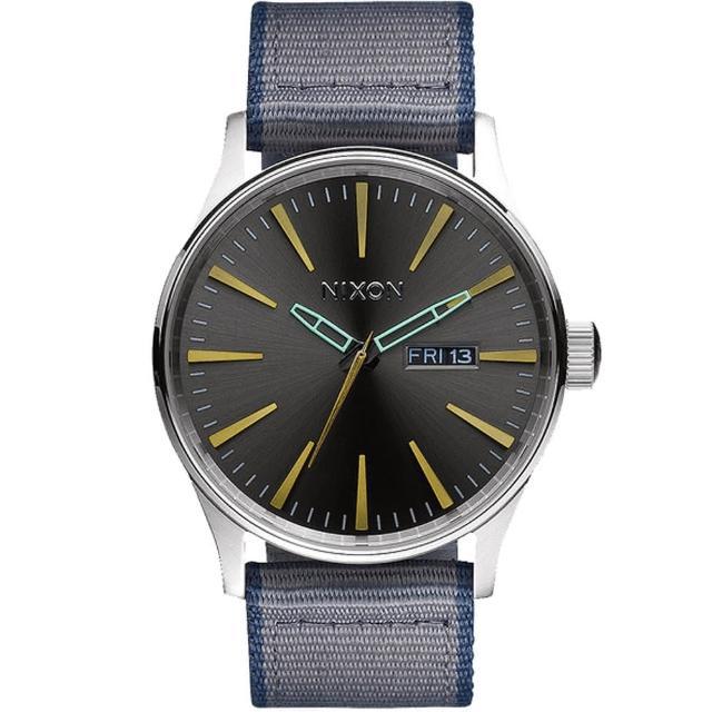 【NIXON】THE SENTRY 精品潮流設計指針錶(A105-2068)