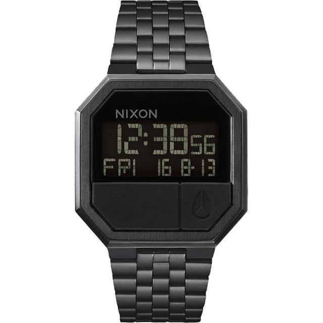 【NIXON】RE-RUN 前衛時尚編織風電子錶(A158-001)