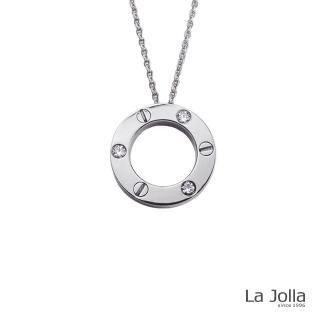 【La Jolla】緊鎖你的心 純鈦墜項鍊