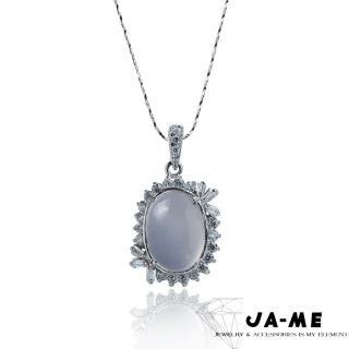【JA-ME】天然酒精藍玉隨項鍊(1)