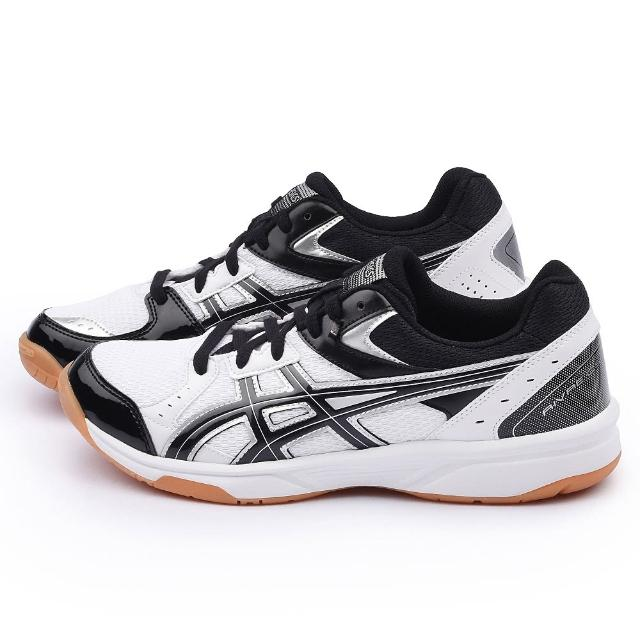 【Asics】男款 ROTE RIVRE CS 排羽球運動鞋(TVRA03-0190-白黑)