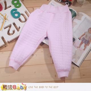 【魔法Baby】嬰幼兒空氣棉護肚高腰保暖睡褲(k43991)