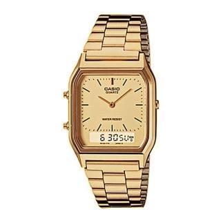 【CASIO】都會風情經典電子錶(AQ-230GA-9)