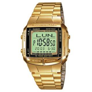 【CASIO】金色夢幻復刻電子錶(DB-360G-9A)