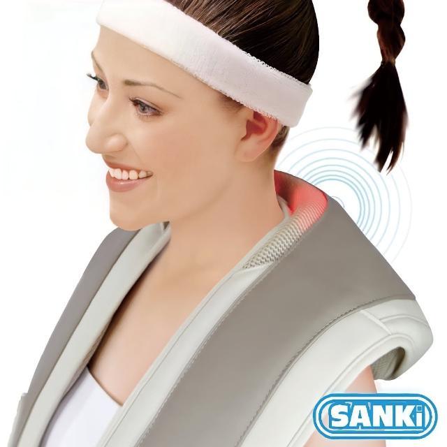 【日本SANKI三貴】肩頸按摩大師 回銷美國升級版(灰)