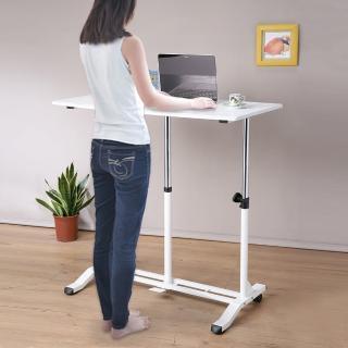 【C&B】哈特氣壓無段式升降站立桌(兩色可選)