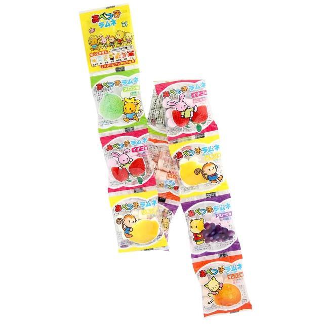 【安部製果】10連水果汽水糖(40g)