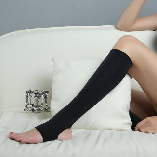 【魔塑師】包腳板+足跟開*雙層560丹尼踩腳小腿塑腿套/抽脂束套(小腿套MagiCurve*S-002)