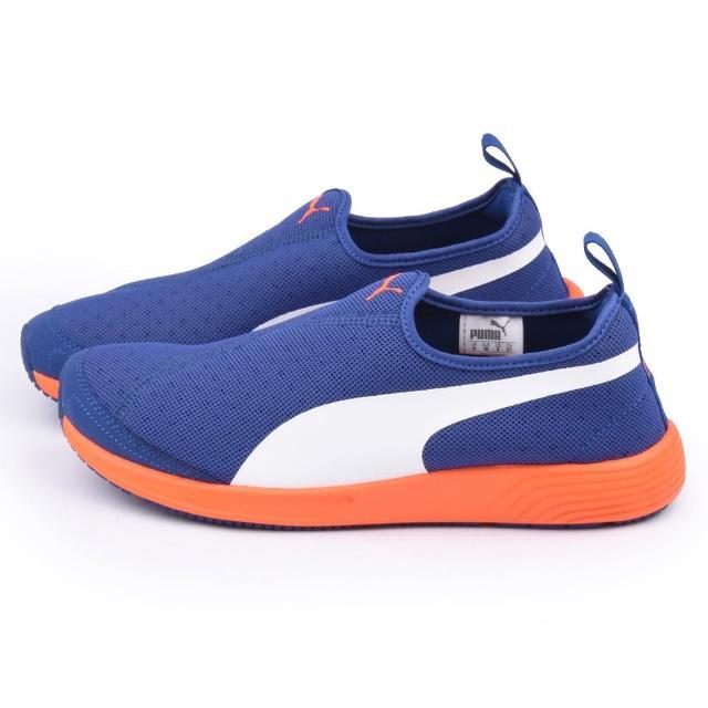 【PUMA】男款FTR TF-Racer Slip-on 運動鞋(358277-07-藍)