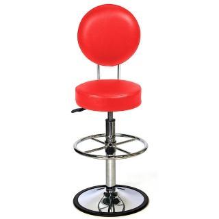 【aaronation 愛倫國度】日月系列吧台椅 100% 台灣製造(YD-T15-1-八色可選)