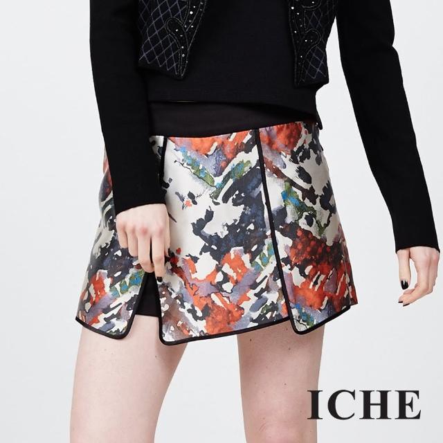 【ICHE 衣哲】多層次立體勾邊裙